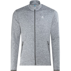 Odlo Alagna Full Zip Midlayer Men grey melange